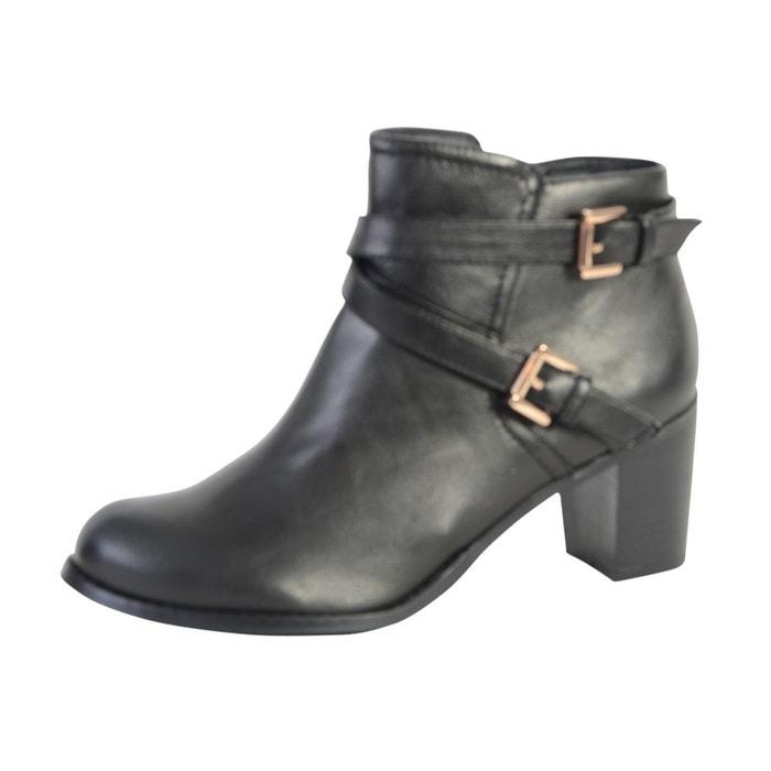 Boots noir  noir Enza Nucci  La Redoute