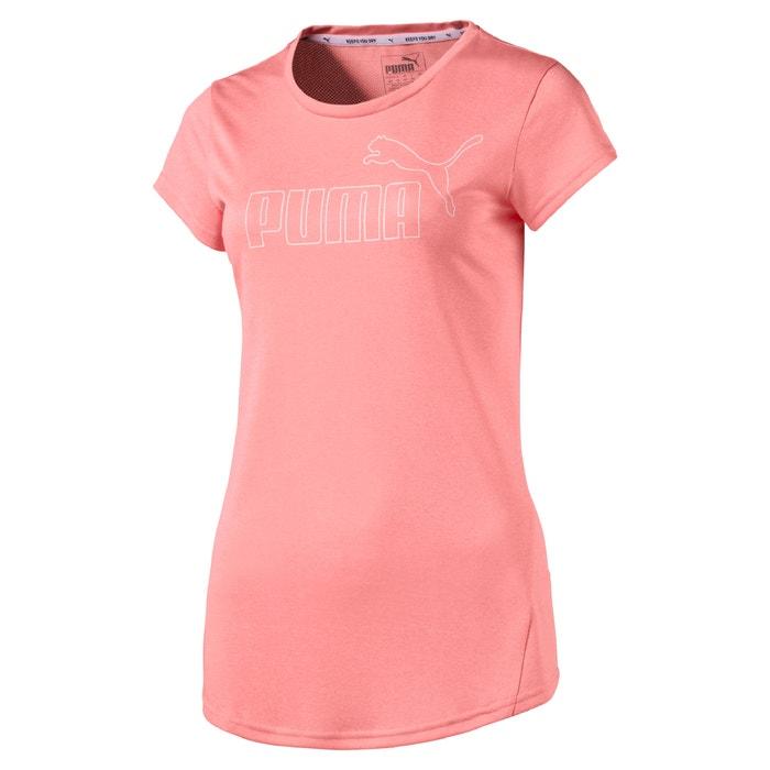Camiseta lisa con cuello redondo y manga corta  PUMA image 0