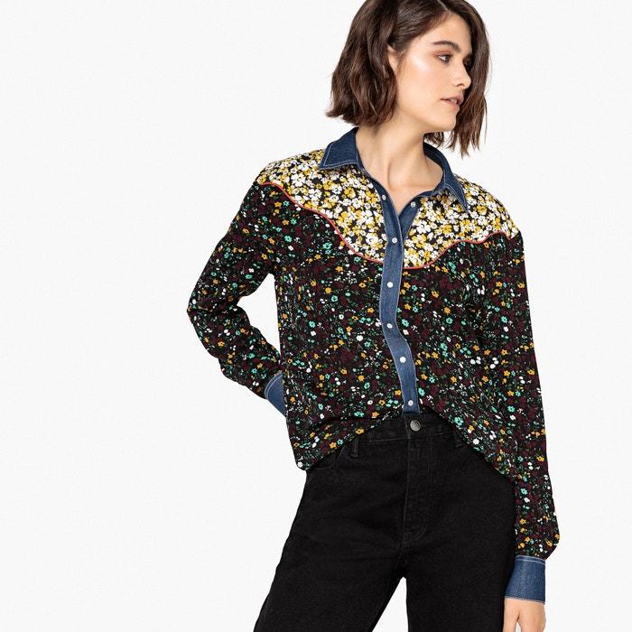 Camicia maniche lunghe, mix di fantasie  La Redoute Collections image 0