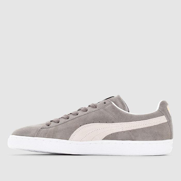 Baskets suede classic + gris/blanc Puma