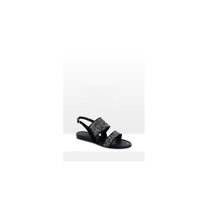 Sandales-sandie noir What For