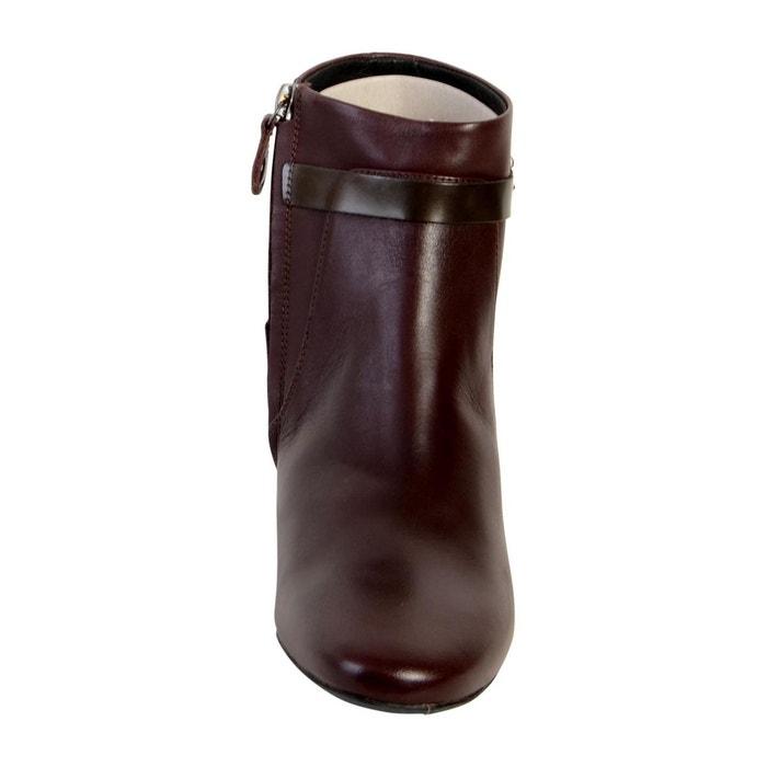 Bottine d audalies m.b dark burgundy/chestnut marron Geox