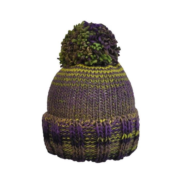 Bonnet tricot en laine chamonix multicolore Toutacoo | La Redoute Sortie À La Recherche De V48It