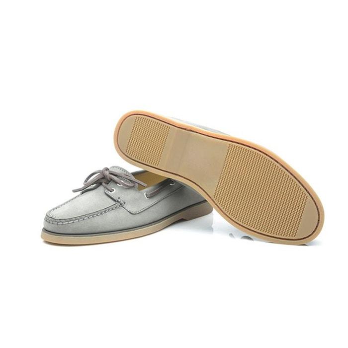Chaussures bateau en nubuck gris gris Shoepassion Eastbay Pas Cher Explorer En Ligne meilleur FjrpmOak