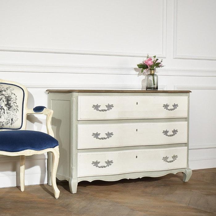 commode bois massif 3 tiroirs serrena bois fonc robin des bois la redoute. Black Bedroom Furniture Sets. Home Design Ideas