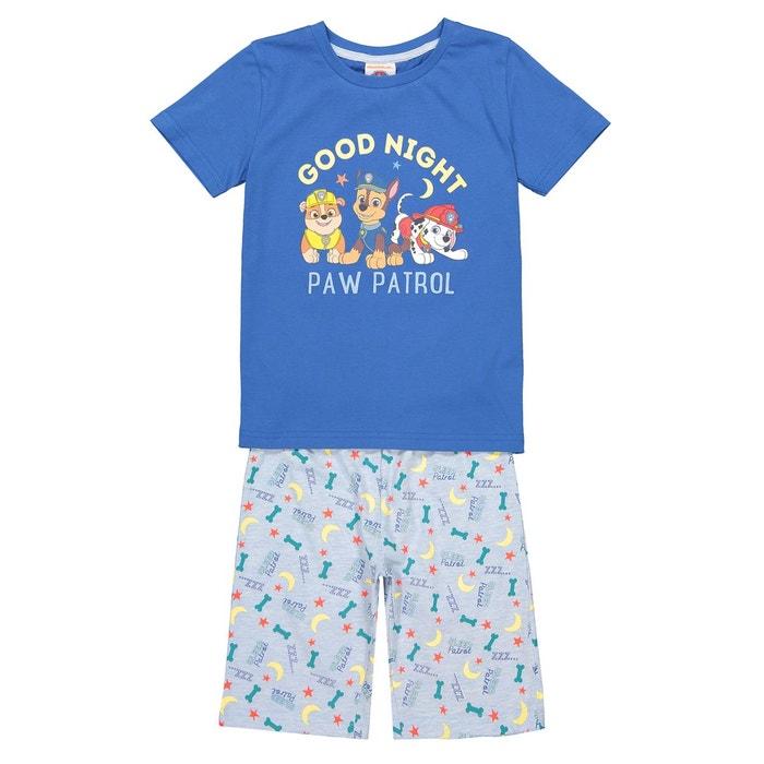 f407a6592acd4 Pyjashort 3-8 ans bleu Pat Patrouille | La Redoute
