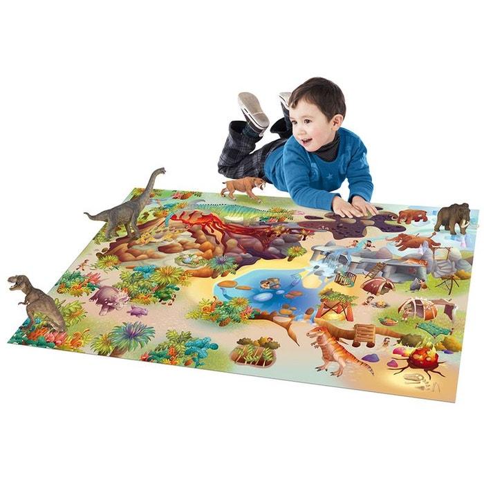 tapis connecte dinosaures tapis enfants par house of kids multicolore house of kids la redoute. Black Bedroom Furniture Sets. Home Design Ideas