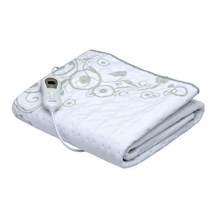 surmatelas chauffant lectrique heatingblanket s2 blanc. Black Bedroom Furniture Sets. Home Design Ideas