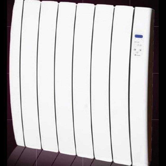 radiateur lectrique inertie par fluide caloporteur 750w designer tt couleur unique haverland. Black Bedroom Furniture Sets. Home Design Ideas