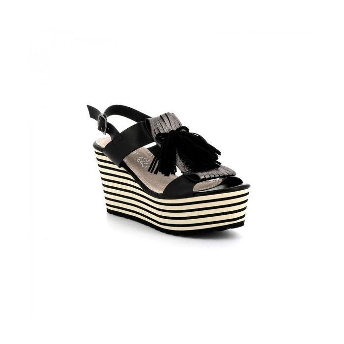Sandale plateforme tentation Cassis Cote Dazur