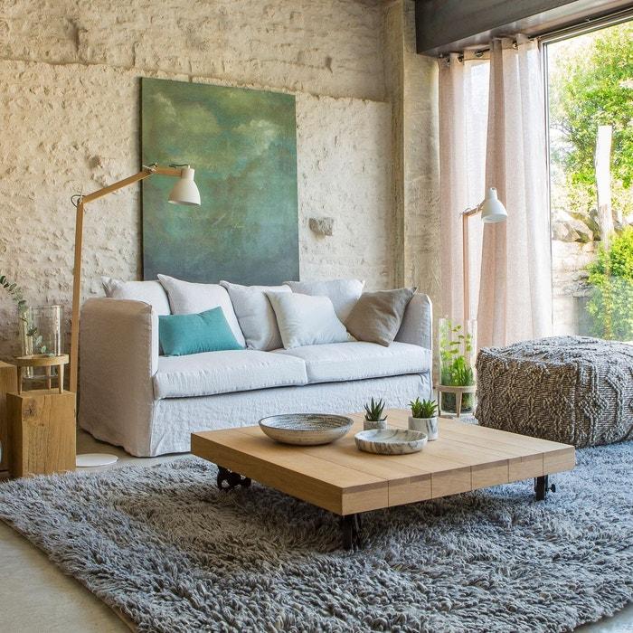 table basse en ch ne massif merlin am pm la redoute. Black Bedroom Furniture Sets. Home Design Ideas