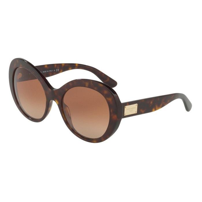 Achat De Réduction Sortie D'usine Pas Cher Lunettes de soleil dg4295 marron glacé Dolce Gabbana   La Redoute Vente 2018 Nouveau Style De Mode Pas Cher qGwPi