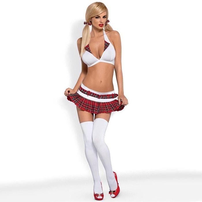 Etudiante Sexy Photo déguisement étudiante sexy 5 pces schooly obsessive | la redoute