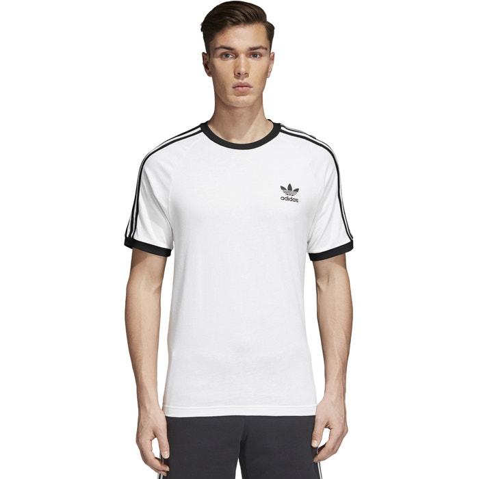 T-shirt scollo rotondo maniche corte fantasia davanti  Adidas originals image 0