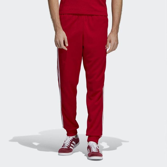 f97c1d5000e21 Pantalon de survêtement sst rouge Adidas Originals | La Redoute