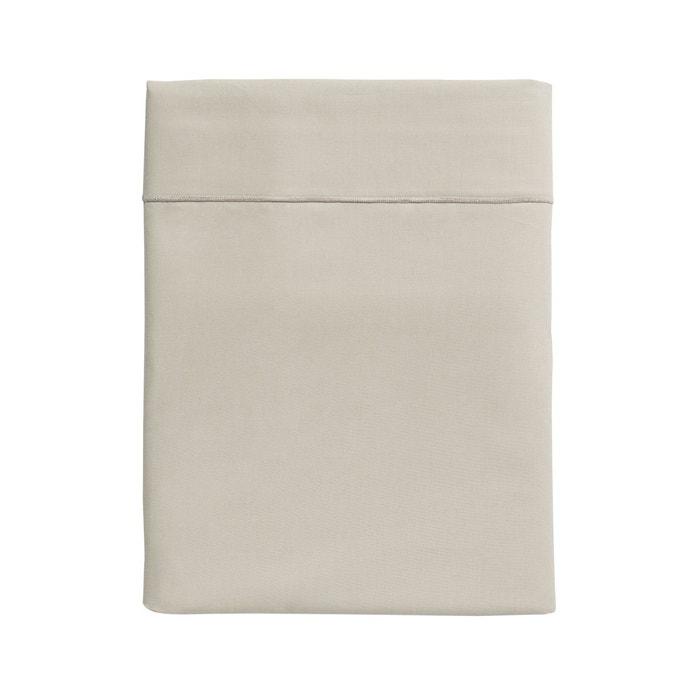 drap plat uni en percale de coton s same s same essix la. Black Bedroom Furniture Sets. Home Design Ideas