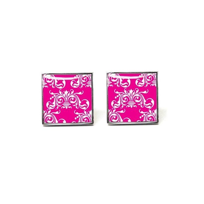 Bouton de manchette tyler & tyler, clarence, bright pink rose Tyler Et Tyler   La Redoute