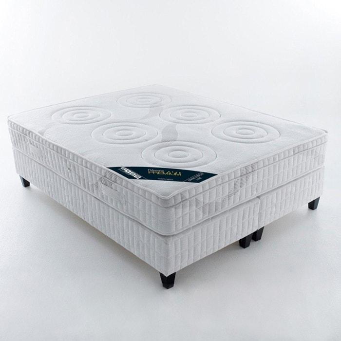 Image Matelas latex, confort luxe ferme 5 zones, avec surmatelas intégré REVERIE