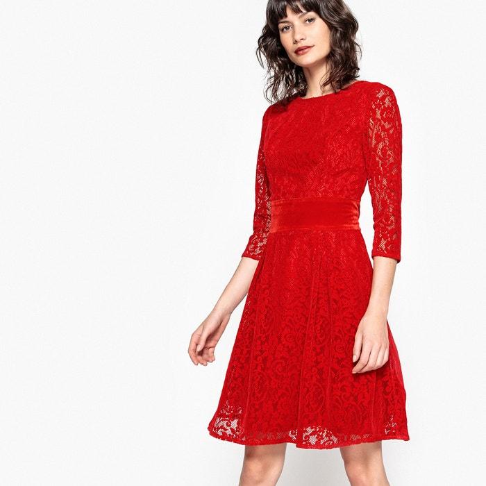 bddef2d84a Lace skater dress
