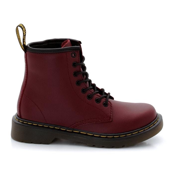 leren boots delaney junior rood dr martens la redoute. Black Bedroom Furniture Sets. Home Design Ideas