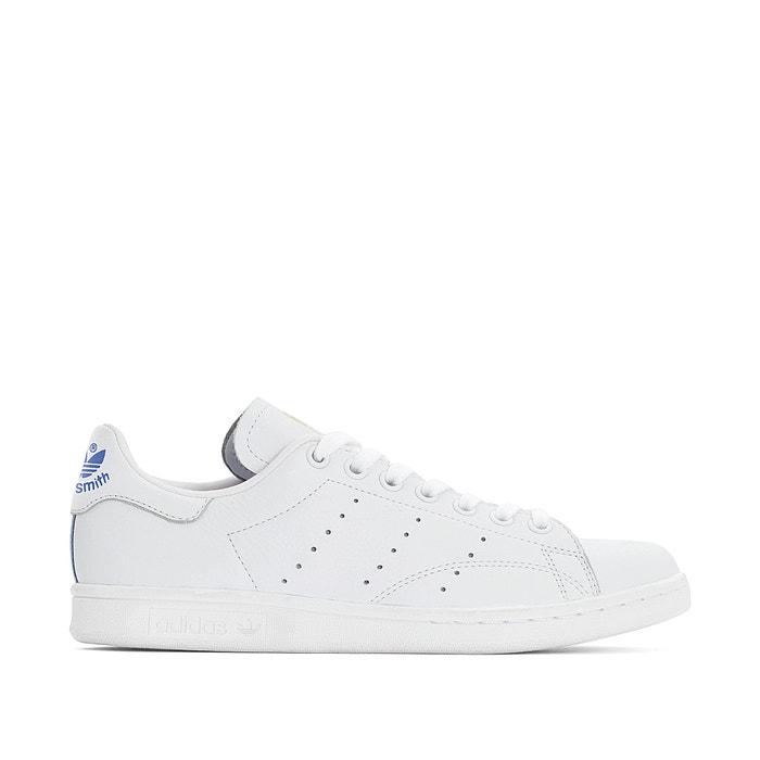 ab75769c12a76 Zapatillas de piel stan smith w blanco Adidas Originals
