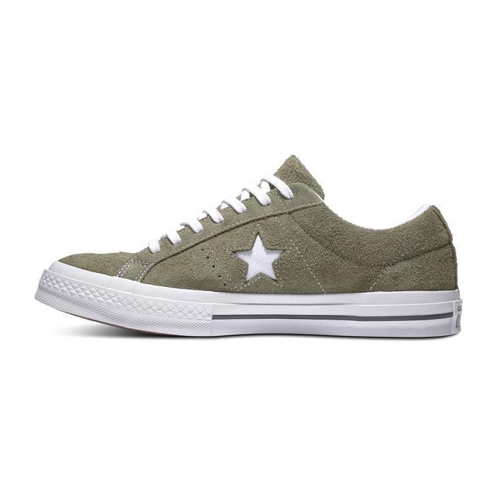 CONVERSE con Star piel cordones Zapatillas One de UqxzwU1rtn