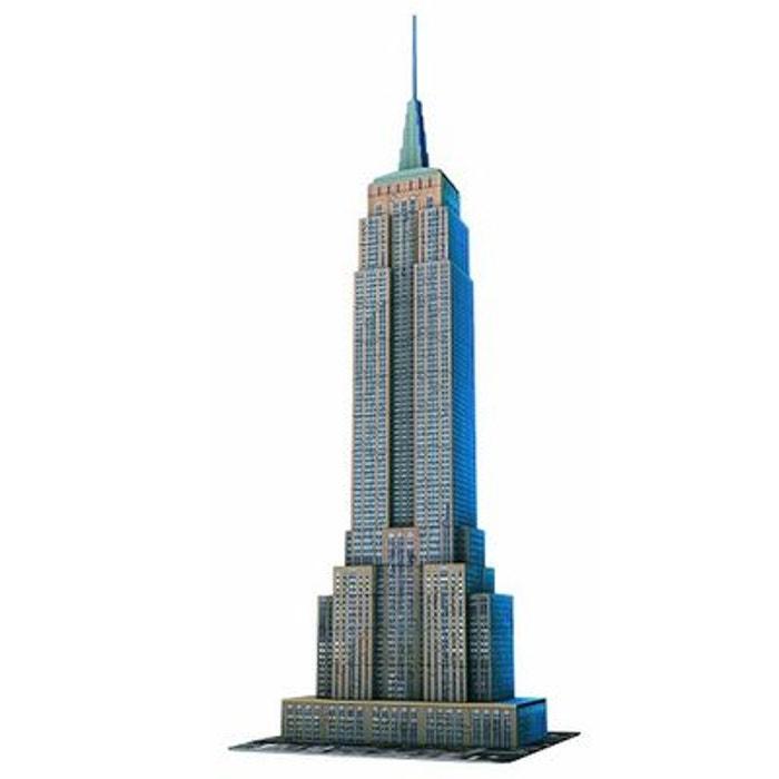 Puzzle 3D - 216 pièces : Empire State Building, New York RAVENSBURGER