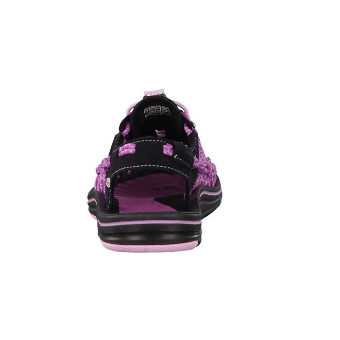 Uneek 8mm rock - sandales femme - rose/violet Keen