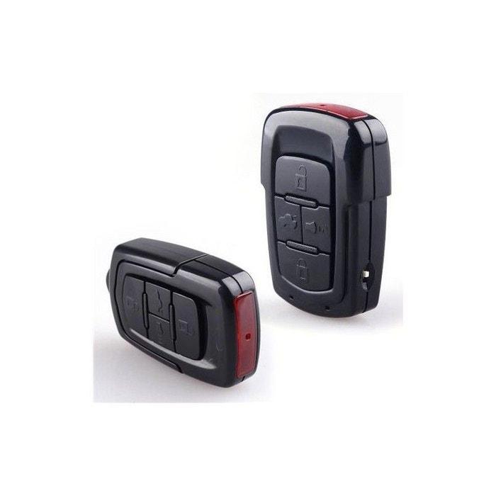 Porte clés caméra espion Full HD 1080p mini appareil photo 8 Go