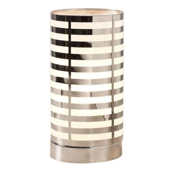 lampe touch diam 14 x h30 linea noir philips la redoute. Black Bedroom Furniture Sets. Home Design Ideas
