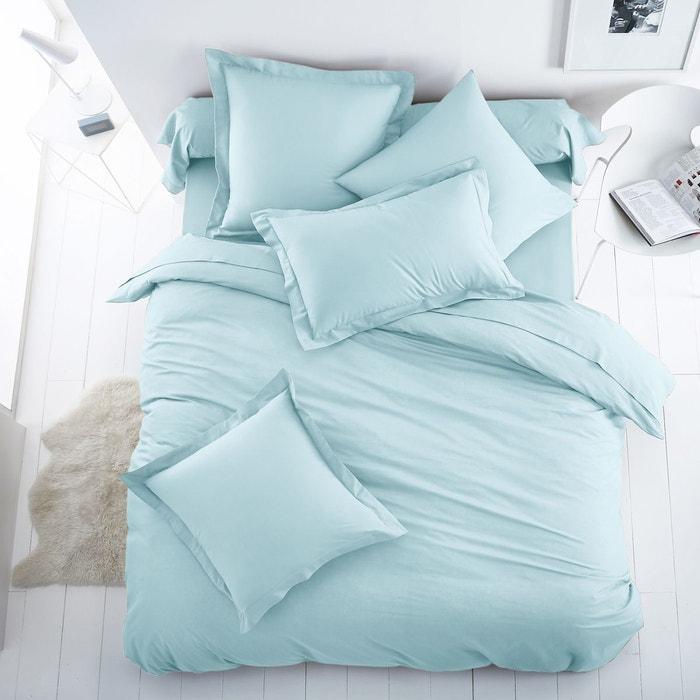 Housse de couette unie coton polyester scenario la redoute for Housse couette unie