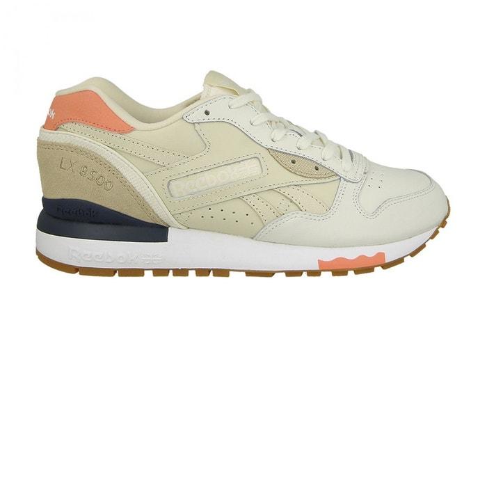 8500 Lx Chalk White REEBOK Chaussures Shades W Pink w4Eqz18x