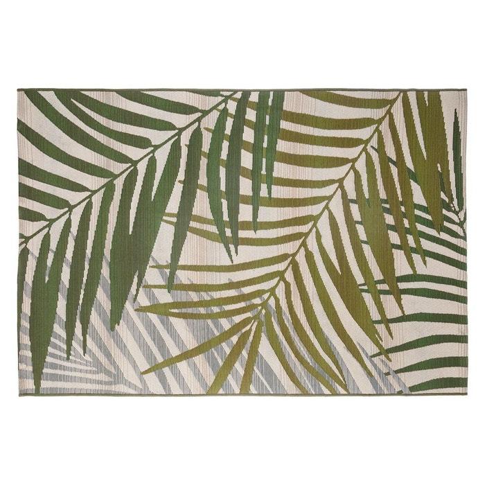 tapis ext rieur int rieur tropic 100x150 cm vert decoratie. Black Bedroom Furniture Sets. Home Design Ideas