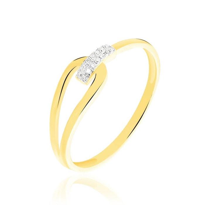 Bague leila or jaune et diamant jaune Histoire D'or   La Redoute Livraison Gratuite Rabais B2oe8EH