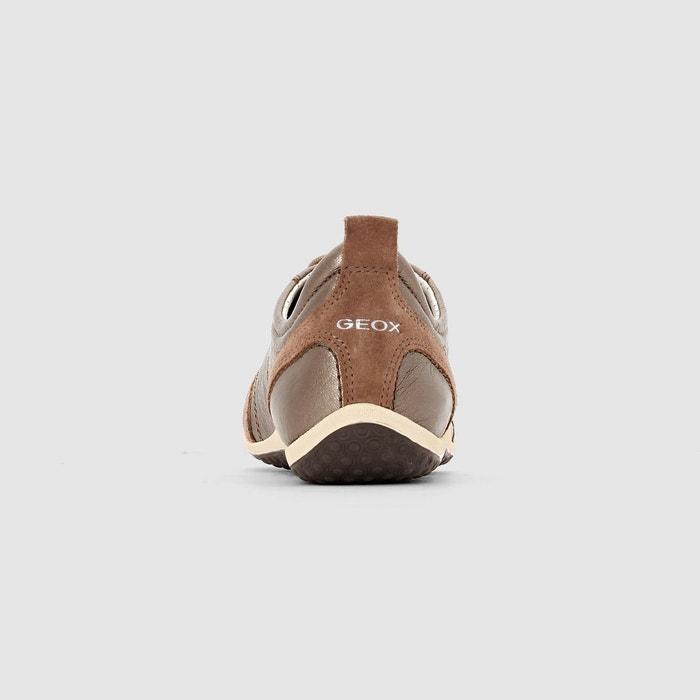 Baskets cuir d vega a Geox