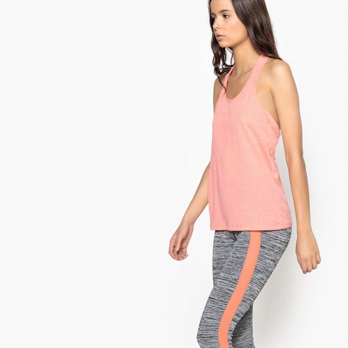 lisa con Collections y mangas Camiseta Redoute sin redondo La cuello UZ6qanx