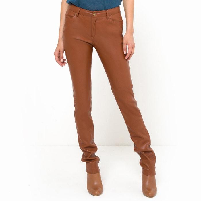 Image Pantalon simili cuir R essentiel