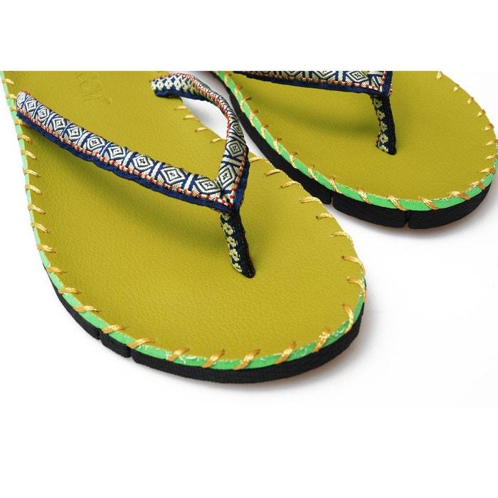 Sandales de yoga - green green green Yogistar