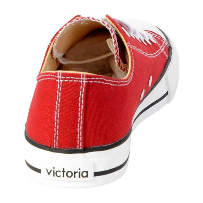 Basket carmin rouge Victoria