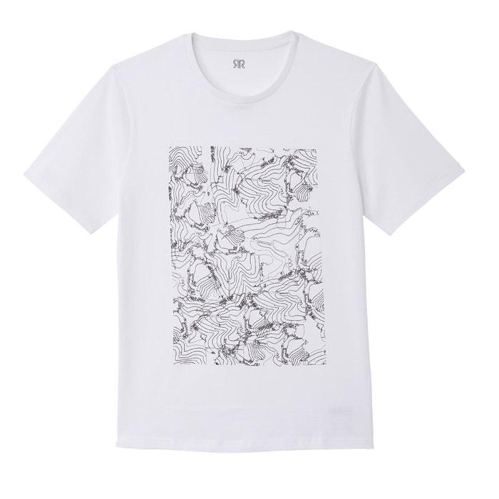 T-shirt met ronde hals en korte mouwen  La Redoute Collections image 0