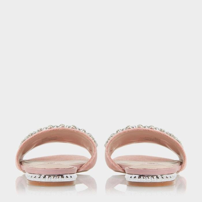 Sandales à enfiler ornées de bijoux - novella Dune London