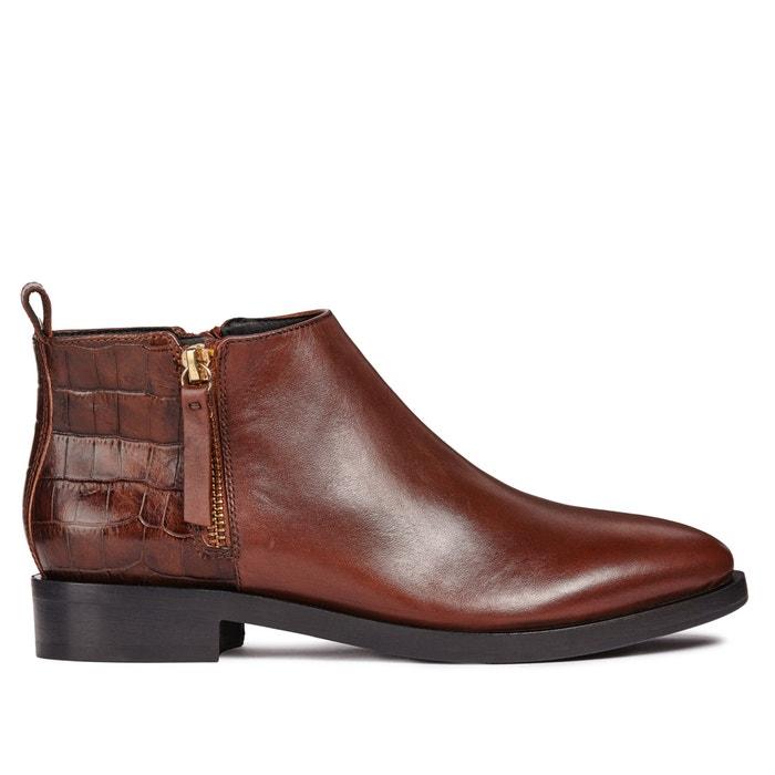 Geox Boots donna La Redoute marron brogue gw4waS