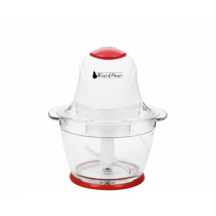 hachoir blanc rouge 400w black pear bha 012 couleur unique black pear la redoute. Black Bedroom Furniture Sets. Home Design Ideas
