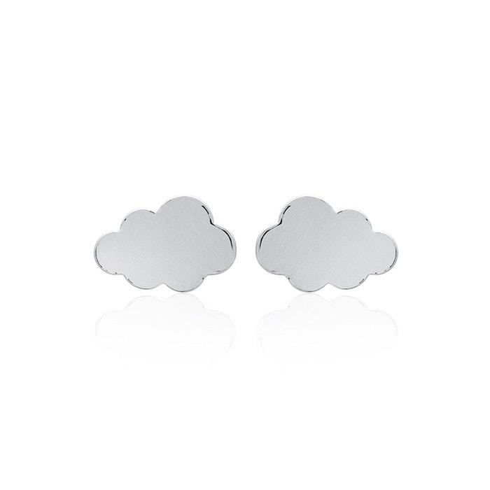 Vente Recherche Boucles d'oreilles nuage argent 925/000 argent Lucette Bijoux   La Redoute Dépêchez-vous Original Prix Pas Cher Classique Sortie QfBcJky