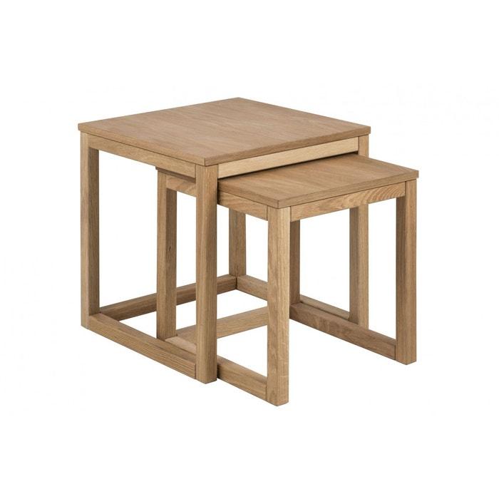 Table Chêne Carré Corner Basse En 50cm rdxoBeCW