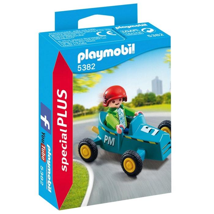 Playmobil 5382 enfant avec kart couleur unique playmobil la redoute - La redoute playmobil ...