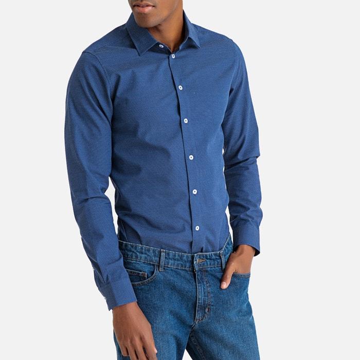 La Redoute Collections Mens Slim Fit Denim Shirt