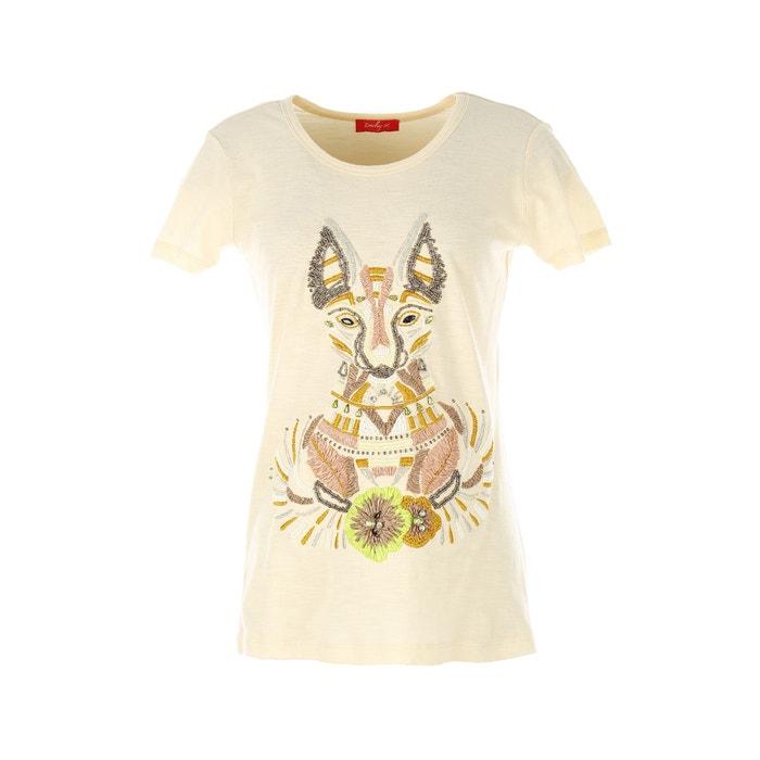 Image Printed Short-Sleeved T-Shirt RENE DERHY