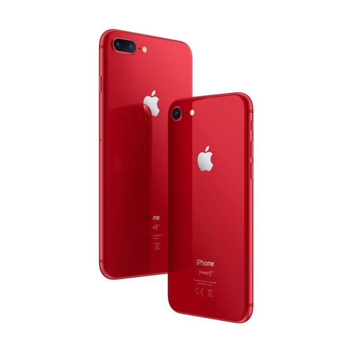 smartphone apple iphone 8 plus product red 64 go rouge apple la redoute. Black Bedroom Furniture Sets. Home Design Ideas