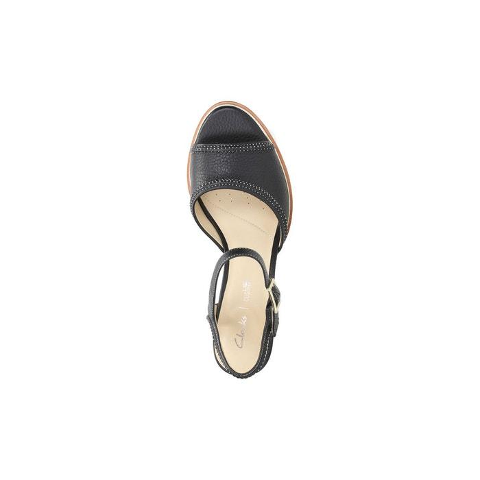 Sandales cuir à talon ellis clara Clarks